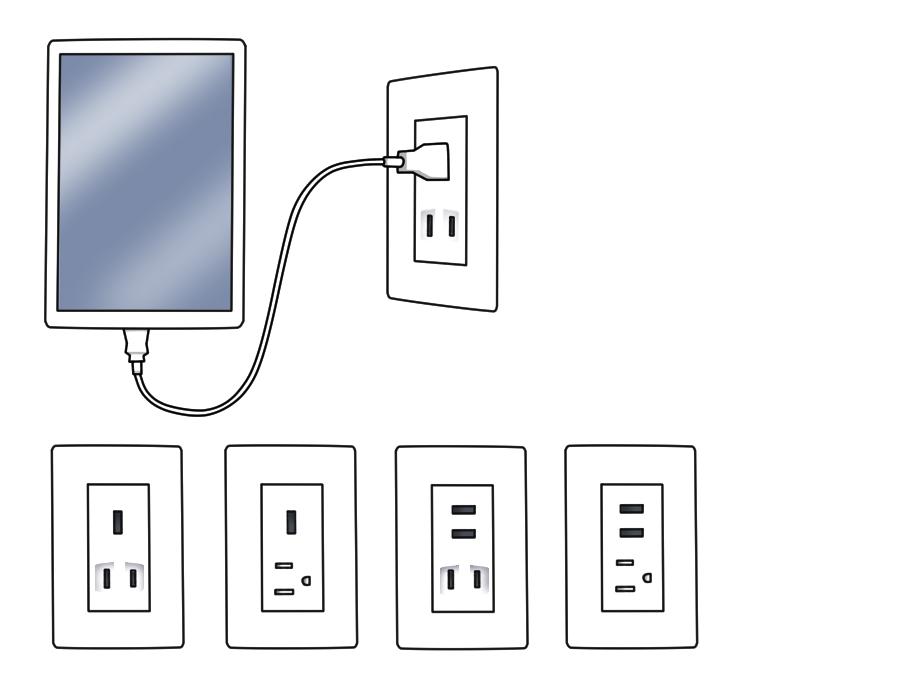 USBポート数を最適化